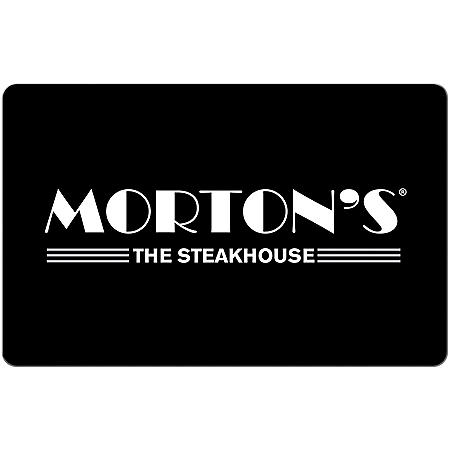 Morton's The Steakhouse eGift Card - Various Amounts (Email Delivery)