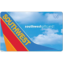 Southwest Airlines eGift Card - Various Amounts (Email Delivery)