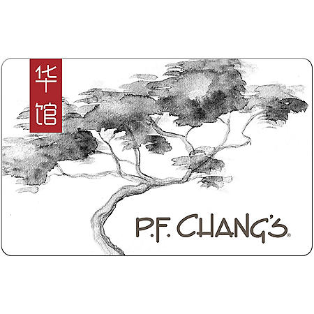 P.F. Chang's eGift Card - Various Amounts (Email Delivery)