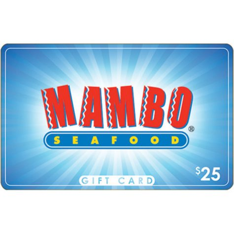 Mambo Seafood $50 Multi-Pack -  2/$25 for $39.98