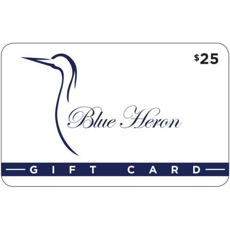 Blue Heron - 2 x $25