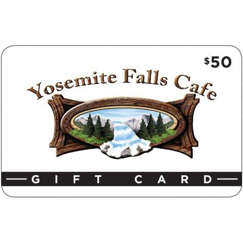 Yosemite Falls Cafe - 2/$50