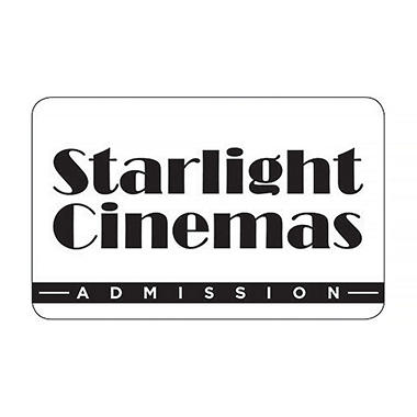 Starlight Cinema Gift Card - 5 x $11