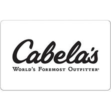 Cabela's $50 eGift Card (Email Delivery)