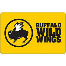 Buffalo Wild Wings eGift Card - Various Amounts (Email Delivery)