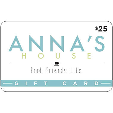 Anna's House $50 Value Gift Cards - 2 x $25