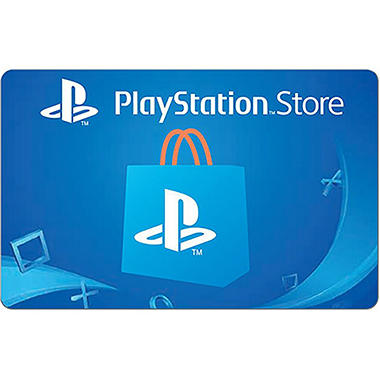 Sony Playstation Store Gift Card 50 Sam S Club