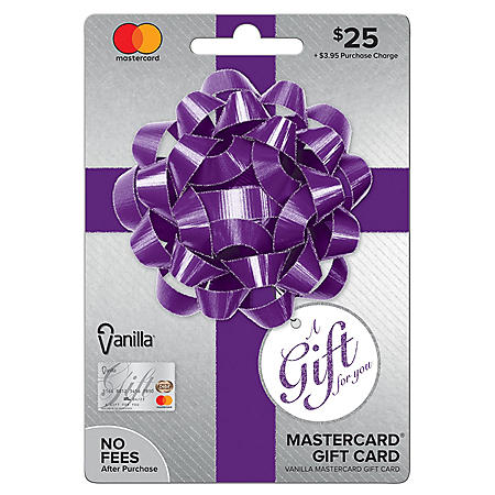 Vanilla® Mastercard® Party Bow $25 Gift Card