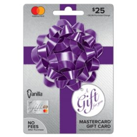 VanillaR MastercardR Party Bow 25 Gift Card