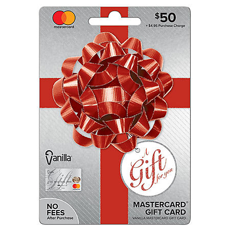 Vanilla® Mastercard® Party Bow $50 Gift Card