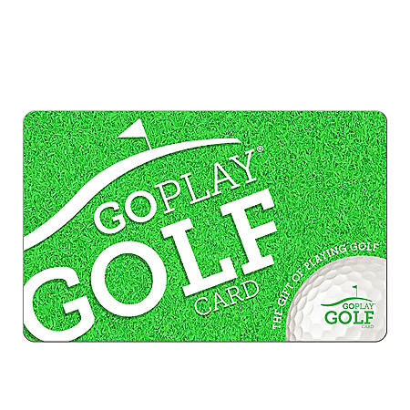 Go Play Golf eGift Cards - Various Amounts (Email Delivery)