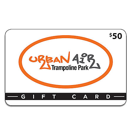 Urban Air Trampoline Park $50 Gift Card