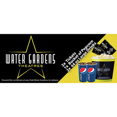Water Gardens Gift Card - 2/$14.40