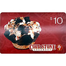 Cold Stone $50 Value Gift Cards- 5 x $10