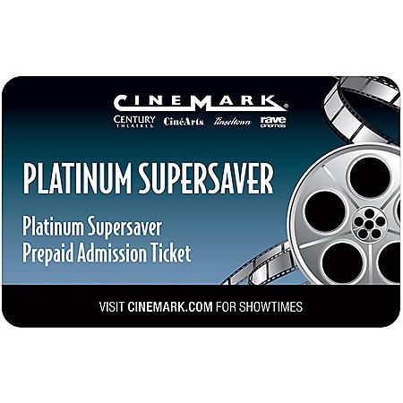 Cinemark Gift Card - 2 Adult Movie Tickets