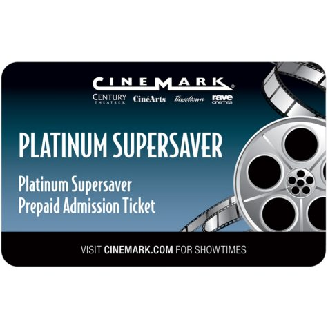 Cinemark Gift Card - 2 Adult Movie Tickets