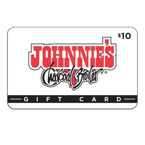 Johnnie's Charcoal Broiler $50 Value Gift Cards - 5 x $10