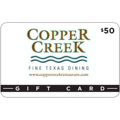 Copper Creek Restaurant - 2 x $50