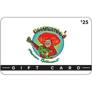 Chelino's Mexican Restaurant (OK) $50 Value Gift Cards - 2 x $25