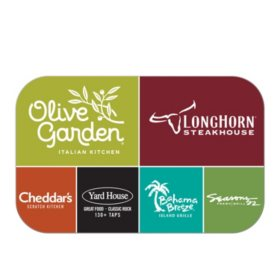 Darden Universal eGift Card - Various Amounts (Email Delivery)