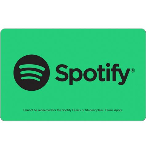 Spotify eGift Card - Various Amounts (Email Delivery)