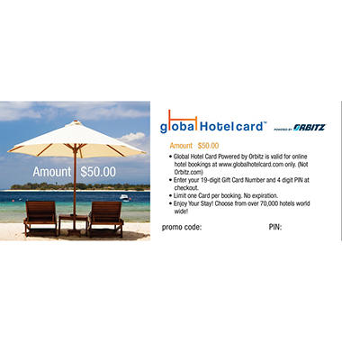 Global Hotel 100 Multi Pack 2 50 Gift Cards For 65 98