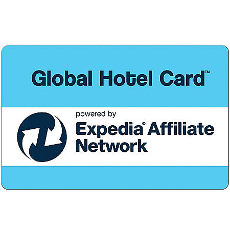 Global Hotel eGift Cards - Various Amounts (Email Delivery)
