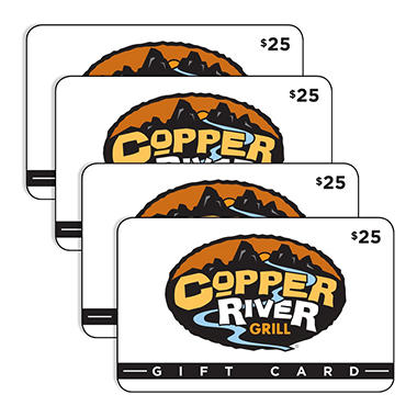 Cooper River Grill $100 Value Gift Cards - 4 x $25