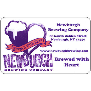 Newburgh Brewing Company Gift Card - 2/$25