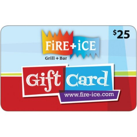 Fire & Ice $50 Gift Card - 2 x $25
