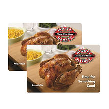Boston Market $50 Multi-Pack - 2/$25 Gift Cards for $39.98