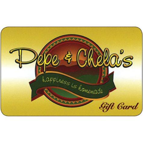 Pepe & Chela's Gift Card - 2 x $25