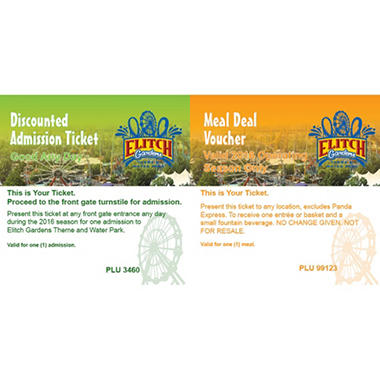 Eltich Gardens 4 Day Passes