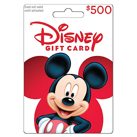 Disney Gift Card - $500