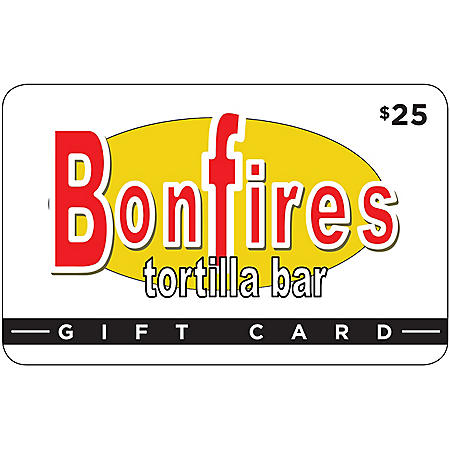 EVBONFIRES TORTILLA $50 MP 2 X $25