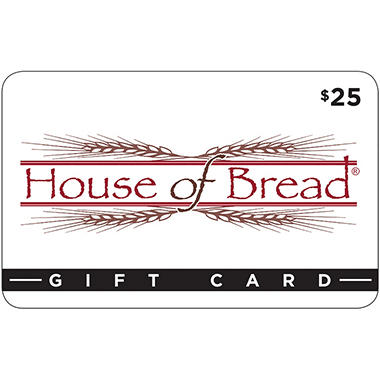 House of Bread Gift Card 2 x $25