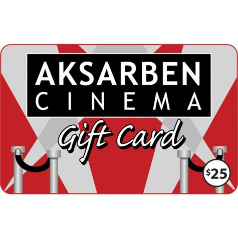 Aksarben Cinema $50 Value Gift Cards - 2 x $25