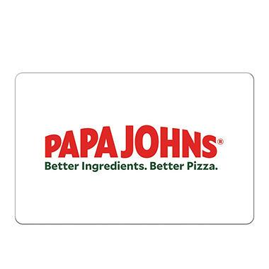 papa johns gift card balance