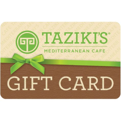 Taziki's Mediterranean Café - Arkansas $50 Multi-Pack -  2/$25 for $39.98