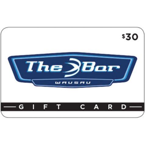 The Bar-Wausau Gift Card - 2/$30