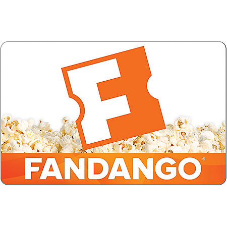 Fandango eGift Card (Email Delivery)
