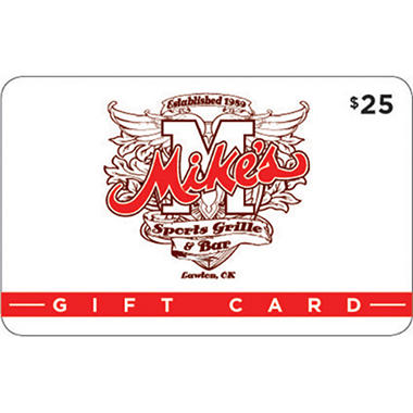 Mike's Sports Grille Gift Card - 2/$25