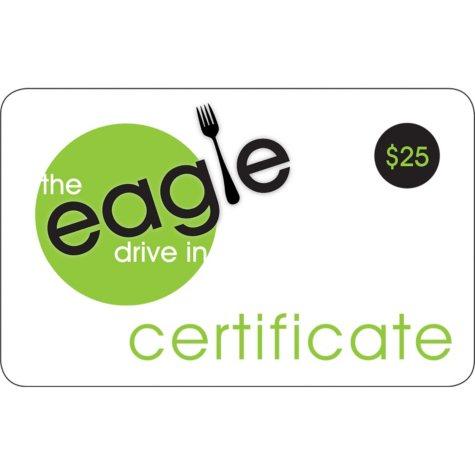Eagle Drive Inn $50 Multi-Pack- 2/$25 for $39.98