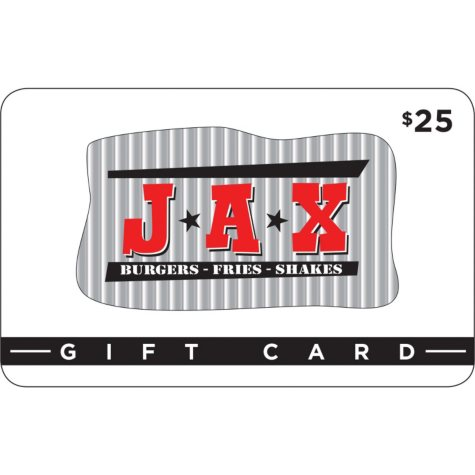 Jax Burgers Fries & Shakes $50 Multi-pack - 2/$25 for $39.98