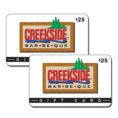 Creekside BBQ - 2 x $25
