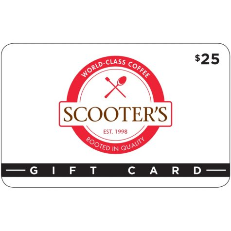Scooter's Coffee House 2 X $25