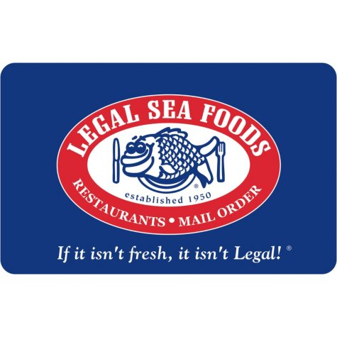 Legal Seafood  $50 Gift Card with $10 BONUS for $49.98
