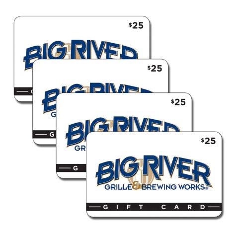 Big River - 4 x $25