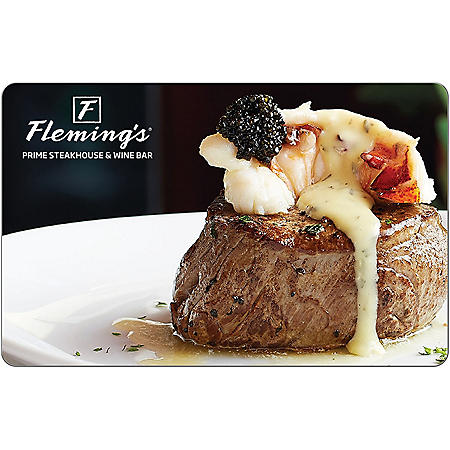 Flemings $25 eGift Card - (Email Delivery)