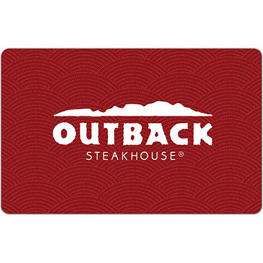 Outback Steakhouse eGift Card - Various Amounts (Email Delivery)